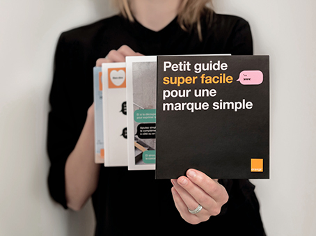 Orange – Le petit guide super facile pour une marque simple